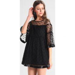 Sukienki hiszpanki: Navy London DOTTY Sukienka letnia black