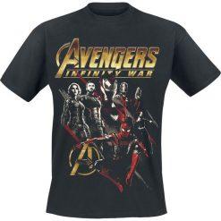 T-shirty męskie z nadrukiem: Avengers Infinity War – Red Squad T-Shirt czarny