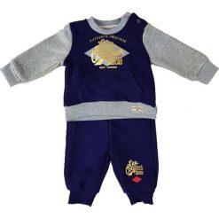 Spodnie niemowlęce: 2-częściowy zestaw w kolorze niebiesko-szarym