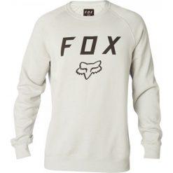 FOX Bluza Męska Legacy Crew Xxl Kremowy. Szare bluzy męskie marki FOX, z bawełny. Za 245,00 zł.