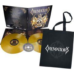Crematory Oblivion 2 LP + Plakat + Torba złoty. Żółte torebki klasyczne damskie Crematory, w kolorowe wzory, z bawełny. Za 114,90 zł.