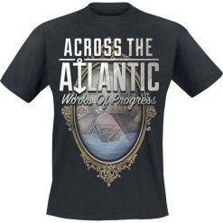 T-shirty męskie: Across The Atlantic Works of progress T-Shirt czarny
