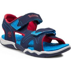 Sandały TIMBERLAND - Advskr 2Strp 2476A  Blue. Niebieskie sandały chłopięce Timberland, z materiału. W wyprzedaży za 149,00 zł.