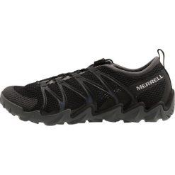Merrell TETREX Obuwie do sportów wodnych black. Czarne buty sportowe męskie Merrell, z materiału, żeglarskie. W wyprzedaży za 381,75 zł.