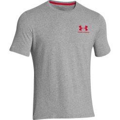 T-shirty męskie: Under Armour Koszulka męska Sportstyle Left Chest Logo T-Shirt Red r. L (1257616603)
