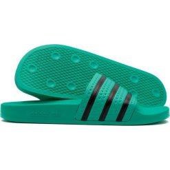 Adidas Klapki unisex Adilette Slides zielone r. 40.5 (CQ3100). Czarne klapki męskie marki Adidas, z kauczuku. Za 164,00 zł.