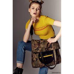 Shopper bag damskie: mili shopper yellow Xl