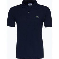Lacoste - Męska koszulka polo, niebieski. Szare koszulki polo marki Lacoste, z bawełny. Za 399,95 zł.