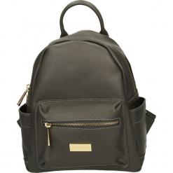 Plecak - 4-78-M D GRIG. Żółte plecaki damskie Venezia, ze skóry. Za 195,00 zł.