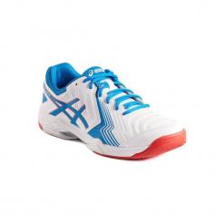 Buty tenisowe Asics Gel męskie. Białe buty do tenisa męskie marki Asics. W wyprzedaży za 199,99 zł.