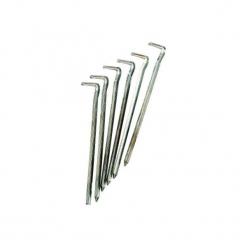 Stalowe szpilki 16 cm (x6). Szare szpilki CAO CAMPING. Za 19,99 zł.