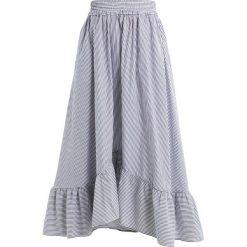 Długie spódnice: IVY & OAK MIDI SUMMER SKIRT Długa spódnica navy blue