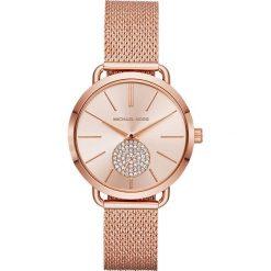 Zegarek MICHAEL KORS - Portia MK3845 Rose Gold/Rose Gold. Czerwone zegarki damskie marki Michael Kors. Za 889,00 zł.
