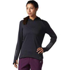 Adidas Bluza damska RS CLima Hoodie czarna r. S (BS2903). Czarne bluzy sportowe damskie marki Adidas, s. Za 206,99 zł.