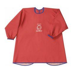 Babybjörn Smock Nieprzemakalna Koszulka Do Jedzenia I Zabawy Red. Czerwone t-shirty dziewczęce marki BABYBJORN, ze skóry. Za 75,00 zł.