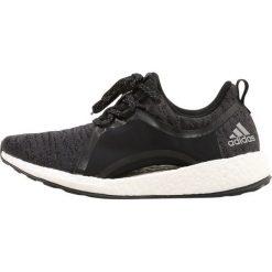 Adidas Performance PUREBOOST X Obuwie do biegania treningowe carbon/silver metallic/core black. Brązowe buty do biegania damskie marki adidas Performance, z gumy. W wyprzedaży za 479,20 zł.