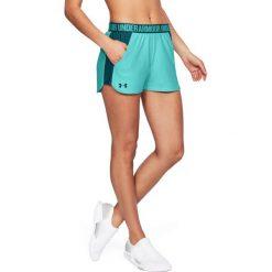 Spodnie sportowe damskie: Under Armour Spodnie damskie Pla Up Short 2.0 turkusowe r. XS (1292231-425)