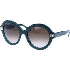 """Okulary przeciwsłoneczne damskie: Okulary przeciwsłoneczne """"V696S"""" w kolorze zielonym"""