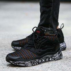 """Buty Reebok Furylite Chukka """"African Pack"""" (AR1708). Szare buty sportowe damskie marki Reebok, l, z dzianiny, z okrągłym kołnierzem. Za 134,99 zł."""