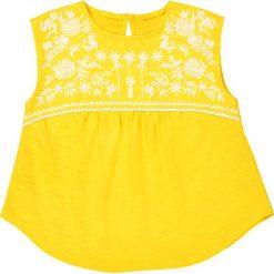 Bluzki dziewczęce bawełniane: Koszulka na ramiączkach haftowana 3-12 lat