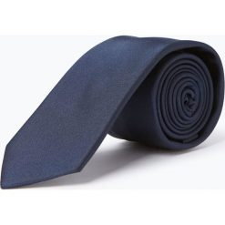 Krawaty męskie: Finshley & Harding - Krawat jedwabny męski, niebieski