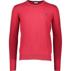 Sweter w kolorze czerwonym. Niebieskie swetry klasyczne męskie marki GALVANNI, l, z okrągłym kołnierzem. W wyprzedaży za 195,95 zł.