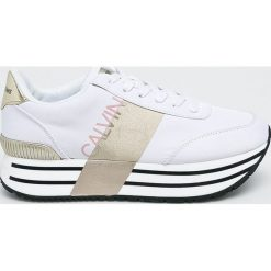 Calvin Klein Jeans - Buty. Szare buty sportowe damskie marki Calvin Klein Jeans, z gumy. Za 629,90 zł.