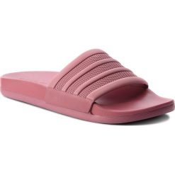 Klapki adidas - adilette Comfort B42205 Tramar/Tramar/Tramar. Czarne klapki damskie marki Adidas, z kauczuku. W wyprzedaży za 139,00 zł.