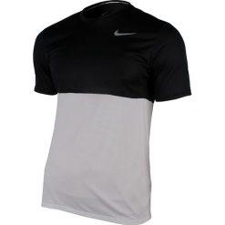 Nike Koszulka męska Racer Short-Sleeve biały r. L (644396 100). Białe koszulki sportowe męskie marki Nike, l. Za 51,66 zł.