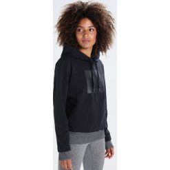Bluzy chłopięce: Under Armour THREADBORNE Bluza z kapturem black