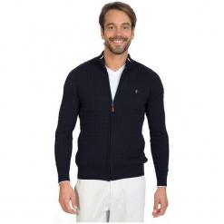 Sir Raymond Tailor Sweter Męski, M, Ciemnoniebieski. Niebieskie swetry rozpinane męskie marki Oakley, na lato, z bawełny, eleganckie. Za 229,00 zł.
