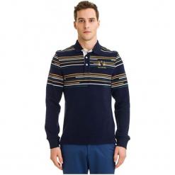 Galvanni Koszulka Polo Męska Bundaberg Xl, Ciemnoniebieski. Czarne koszulki polo GALVANNI, m, w kolorowe wzory, z bawełny. W wyprzedaży za 219,00 zł.