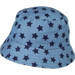 Mothercare REVERSIBLE STAR FISHERMAN Kapelusz denim. Niebieskie kapelusze damskie mothercare, z bawełny, retro. Za 149,00 zł.