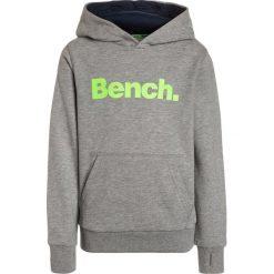 Bench CORE HOODY  Bluza z kapturem grey marl. Szare bluzy chłopięce rozpinane marki Bench, z bawełny, z kapturem. Za 169,00 zł.