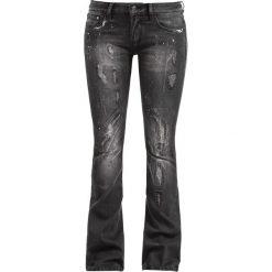 Spodnie damskie: Black Premium by EMP Grace Jeansy damskie czarny