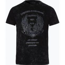 Guess Jeans - T-shirt męski, czarny. Szare t-shirty męskie z nadrukiem marki Guess Jeans, l, z bawełny. Za 229,95 zł.