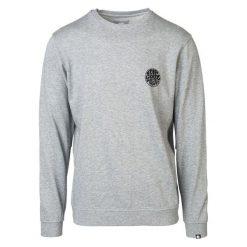 Rip Curl Bluza Męska Wettie Crew L Szary. Szare bluzy męskie rozpinane marki Rip Curl, l, z nadrukiem, z bawełny. W wyprzedaży za 284,00 zł.