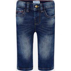 Mayoral - Jeansy dziecięce 68-98 cm. Niebieskie jeansy męskie Mayoral, z bawełny. Za 99,90 zł.