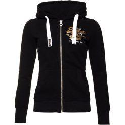 Superdry NEW ORIGINAL  Bluza rozpinana black. Czarne bluzy rozpinane damskie marki Superdry, m, z bawełny. Za 369,00 zł.