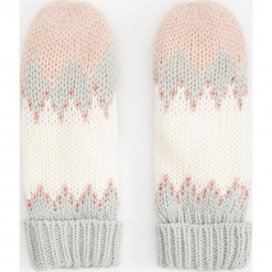 Rękawiczki z jednym palcem - Jasny szar. Białe rękawiczki damskie marki Reserved, l, z dzianiny. Za 39,99 zł.