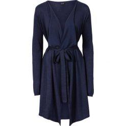 Płaszcze damskie: Płaszcz dzianinowy bonprix ciemnoniebieski