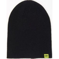 Czapki męskie: Dwustronna czapka – Czarny