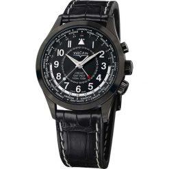 Zegarki męskie: Zegarek męski Vulcain Aviator GMT Steel 100108.332DLC