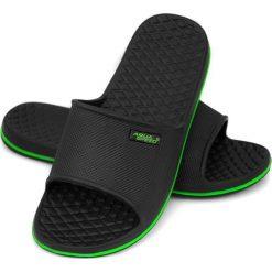Buty męskie: Aqua-Speed Klapki męskie Cordoba czarno-zielone r. 42 (49402)