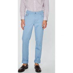 U.S. Polo - Spodnie. Szare rurki męskie marki U.S. Polo, z bawełny. W wyprzedaży za 239,90 zł.