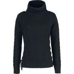 Black Premium by EMP Yertle The Turtle Bluza damska czarny. Czarne bluzy rozpinane damskie marki Black Premium by EMP, l. Za 121,90 zł.