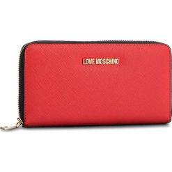 Duży Portfel Damski LOVE MOSCHINO - JC5552PP16LQ0500 Rosso. Czerwone portfele damskie Love Moschino, ze skóry ekologicznej. Za 369,00 zł.