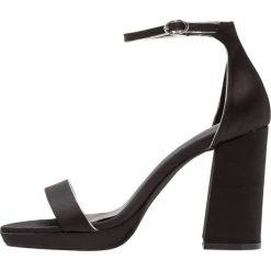 Sandały damskie: New Look TEKKI Sandały na obcasie black