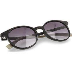 Okulary przeciwsłoneczne BOSS - 0288/S Black 807. Czarne okulary przeciwsłoneczne damskie lenonki marki Boss. W wyprzedaży za 389,00 zł.