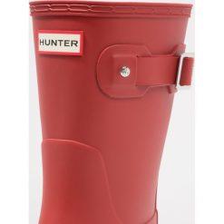 Hunter ORIGINAL SHORT Kalosze military red. Czerwone kalosze męskie Hunter, z kauczuku. Za 479,00 zł.